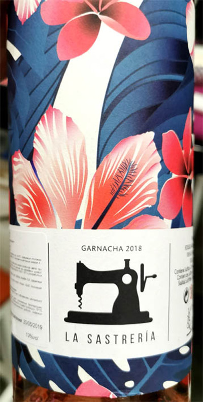 Отзыв о вине La Sastreria Garnacha 2018