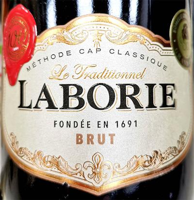 Отзыв об игристом вине Laborie Methode Cap Classic Traditionnel brut