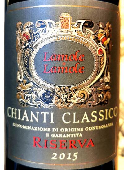 Отзыв о вине Lamole di Lamole Chianti Classico Riserva 2015