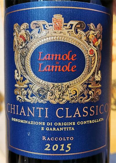 Отзыв о вине Lamole di Lamole Chianti Classico raccolto 2015