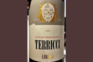 Отзыв о вине Lanciola Antiche Terre de' Ricci Toscana 2015