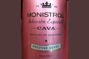 Отзыв об игристом вине Marques de Monistrol Seleccion Especial Monistrol Cava Prestige Cuvee Rose Brut