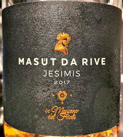 Отзыв о вине Masut da Rive Jesimis Mariano del Friuli 2017