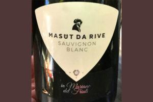 Отзыв о вине Masut da Rive Sauvignon Blanc Mariano del Friuli 2017