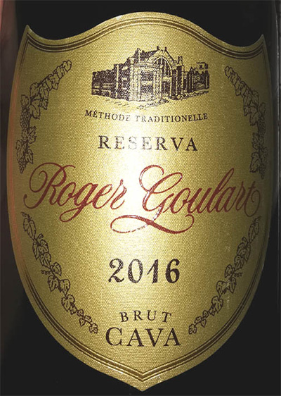 Отзыв об игристом вине Roger Goulart Cava reserva brut 2016