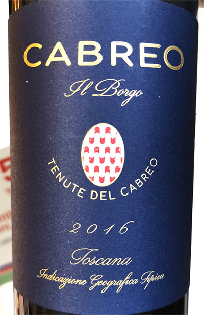 Отзыв о вине Tenute del Cabreo Il Borgo Cabreo 2016
