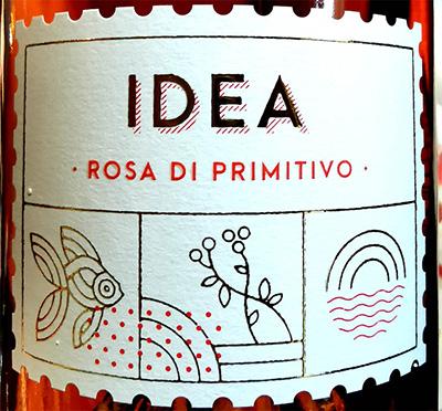 Отзыв о вине Varvaglione Idea Rosa di Primitivo 2018