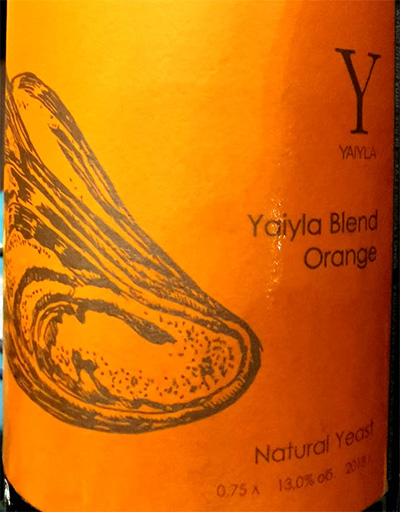 Отзыв о вине Yaiyla Blend Orange Natural Yeast 2018