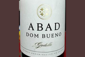 Отзыв о вине Abad Dom Bueno Godello 2018