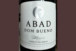 Отзыв о вине Abad Dom Bueno Mensia Laderas del Notre 2016