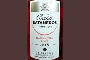 Отзыв о вине Casa Bataneros Garnacha Rose Valdepenas 2018