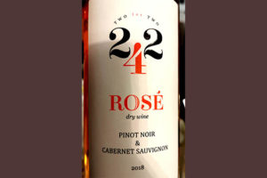 Отзыв о вине 242 Two for Two Rose Pinot Noir & Cabernet Sauvignon 2018