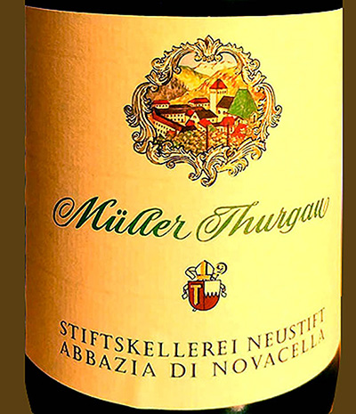 Отзыв о вине Abbacia de Novacella Muller Thurgau 2018