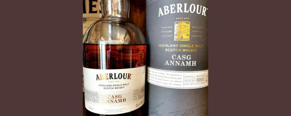 Отзыв о виски Aberlour Casg Annamn single malt whisky 1 л.