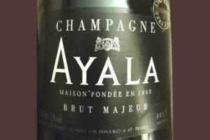 Отзыв о шампанском Ayala Brut Majeur Champagne
