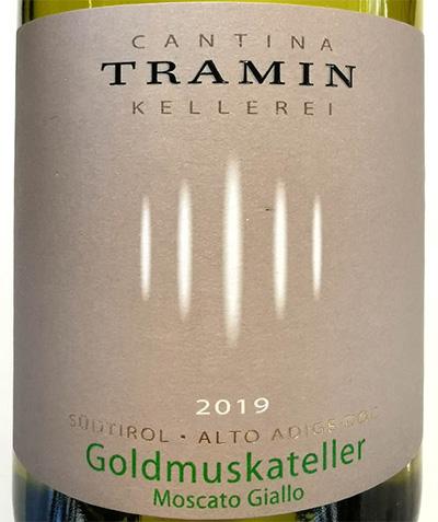 Отзыв о вине Cantina Tramin Goldmuskateller Moscato Giallo Alto Adige Sudtirol 2019