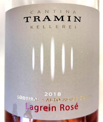 Отзыв о вине Cantina Tramin Lagrein Rose Alto Adige Sudtirol 2018