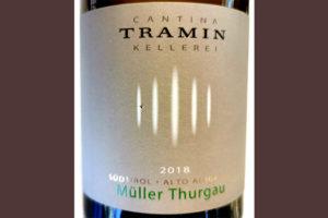 Отзыв о вине Cantina Tramin Muller Thurgau Alto Adige Sudtirol 2018