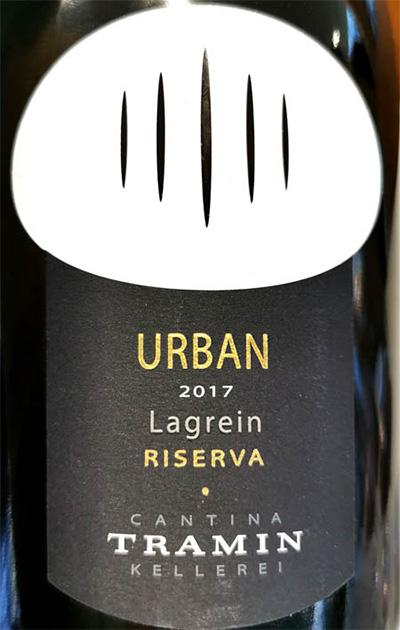 Отзыв о вине Cantina Tramin Urban Lagrein Riserva Alto Adige Sudtirol 2017