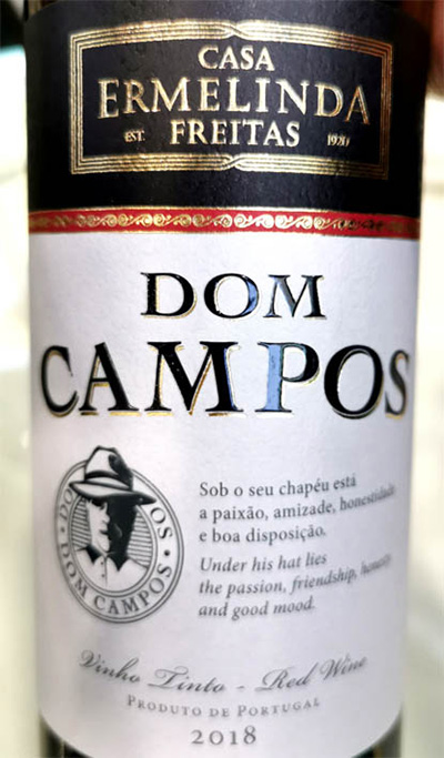 Отзыв о вине Casa Ermelinda Freitas Dom Campos vinho tinto 2018