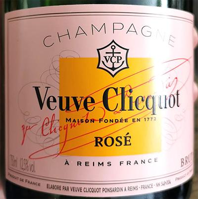 Отзыв о шампанском Champagne Veuve Clicquot Rose brut