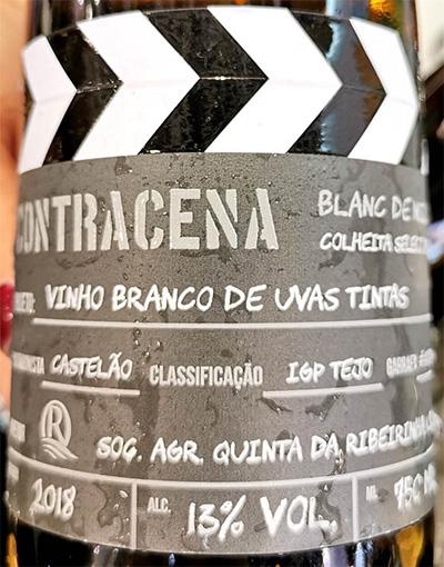 Отзыв о вине Contracena Blanc de Noirs colheita Selecionada 2018