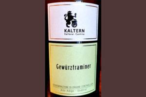 Отзыв о вине Kellerei Kaltern Gewurztraminer Alto Adige Sudtirol 2018