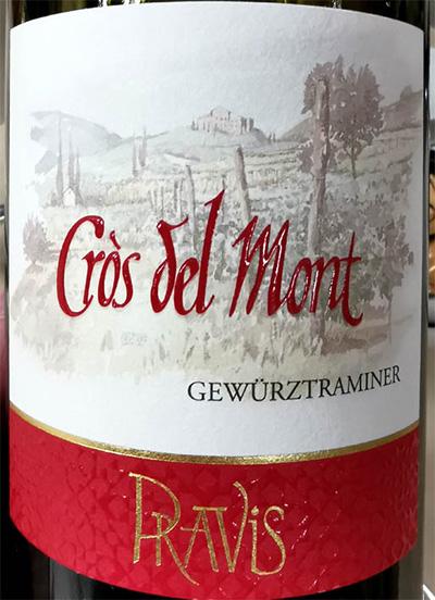 Отзыв о вине Pravis Cros del Mont Gewurztraminer 2018