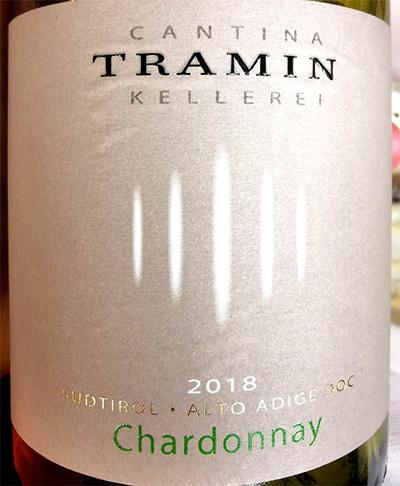 Отзыв о вине Tramin Chardonnay 2018