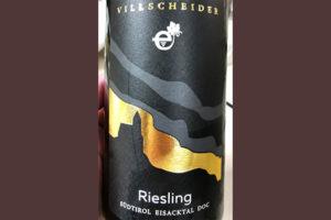 Отзыв о вине Villscheider Zudtirol Eisacktal DOC Riesling 2018