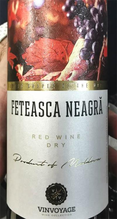 Отзыв о вине Vinvoyage Feteasca Neagra red dry 2017