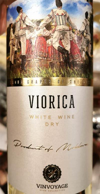 Отзыв о вине Vinvoyage Viorica white wine dry 2018