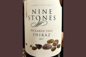 Отзыв о вине Calabria Family Wines Nine Stones Shiraz MCLaren Vale 2017