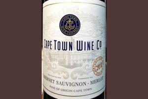 Отзыв о вине Cape Town Wine Co Cabernet Sauvignon Merlot 2018