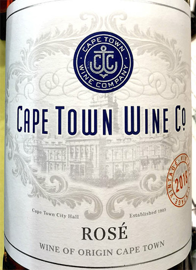 Отзыв о вине Cape Town Wine Co. Rose 2018