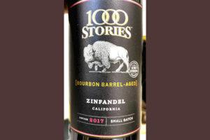 Отзыв о вине Fetzer Vineyards 1000 Stories Zinfandel Bourbon barrel-aged California 2017