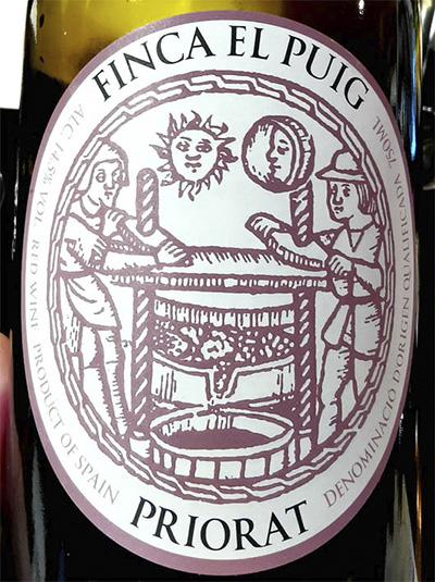 Отзыв о вине Finca el Puig Priorat 2009