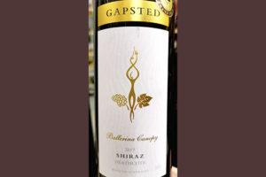 Отзыв о вине Gapsted Wines Ballerina Canopy Shiraz Australia 2017
