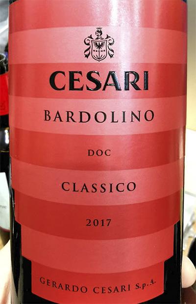 Отзыв о вине Gerardo Cesari Bardolino classico 2017