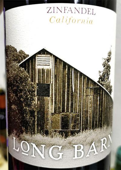 Отзыв о вине Long Barn Zinfandel California 2017