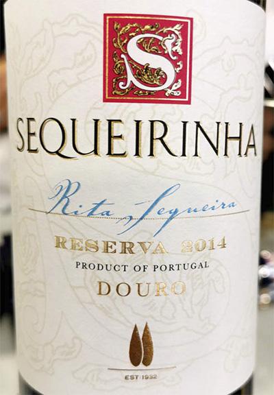 Отзыв о вине Rita Sequeira Sequeirinha Reserva vinho tinto Douro 2014