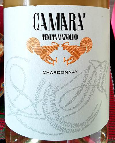 Отзыв о вине Tenuta Mazzolino Camara' Chardonnay 2018