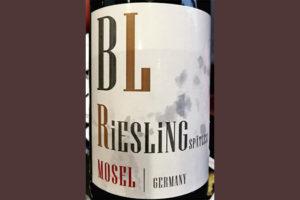 Bollig-Lehnert BL Riesling Spatlese Mosel Germany 2018 белое вино отзыв