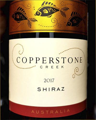 Отзыв о вине Copperstone Creek Shiraz Australia 2017