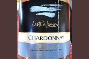 Crete di Lamone Chardonnay Rubicone 2016 белое вино отзыв