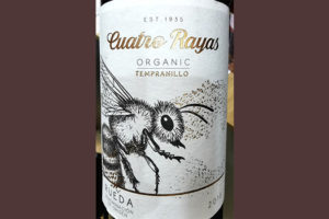 Отзыв о вине Cuatro Rayas Organic Tempranillo Rueda 2018