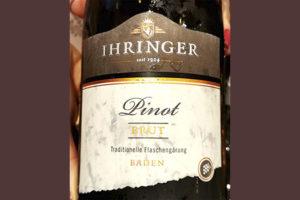 Ihringer Pinot Brut traditionelle белое игристое вино отзыв