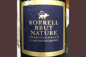 Korrell Brut Nature traditionelle flaschengarung белое игристое вино отзыв