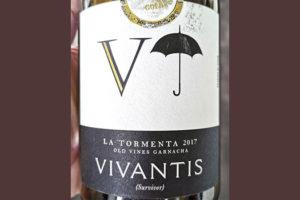 La Tormenta V Vivantis (Survivor) Old Vine Garnacha 2017 красное вино отзыв
