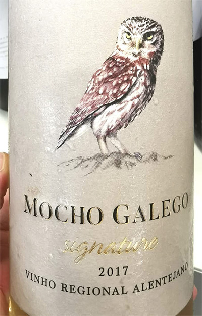 Отзыв о вине Mocho Galego Signature vinho branco 2017